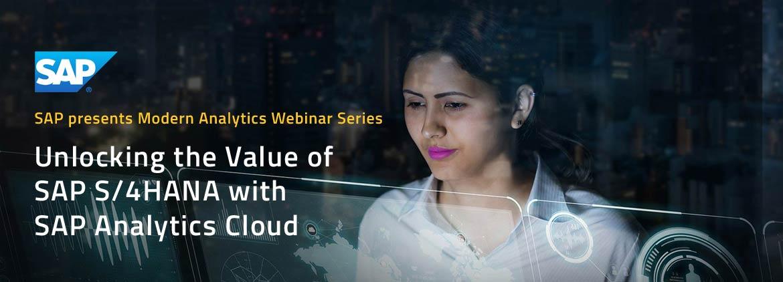 SAP S/4HANA with SAP Analytics Cloud