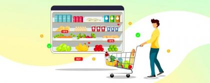 Digital transformation in grocery business