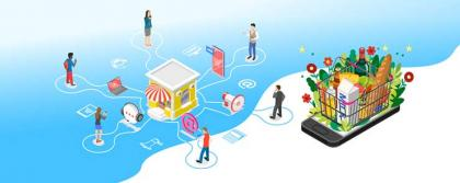 Omnichannel inventory management for grocery